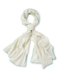 Cotton Dobby Scarf AD180 Hats, Scarves & Gloves at Boden