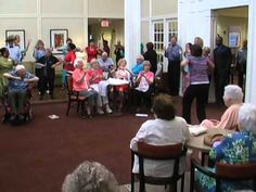 Senior Citizens Dance  to Pharrell Williams Happy Song Choreographed by:...