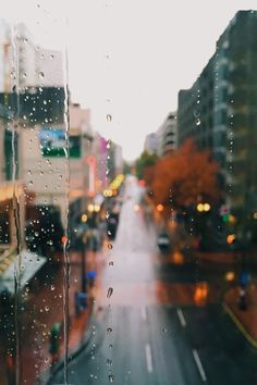 Картинка с тегом «rain, city, and window»