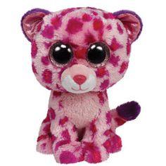Ty Stuffed Animals   Ty Beanie Boo's Plush Stuffed Animals Pink Big Cat 36085 Glamour The ...