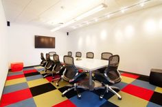 New Ideas for the Way You Work - Assemble - Knoll Commercial Interior Design, Office Interior Design, Commercial Interiors, Office Interiors, Office Carpet, Office Reception, Good Environment, Carpet Tiles, Coffee Shop