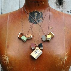 book necklace!