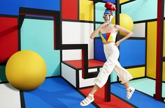 Mix Mondrian and Roy Lichtenstein and you have the Aizone latest campaign. Again, a beautiful creative direction work by Jessica Walsh!