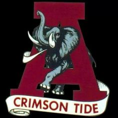 "THIS IS MY FAVORITE ALABAMA FOOTBALL LOGO AND I HAVE LOVED THIS LOGO FOR MANY YEARS NOW AND I REMEMBER THIS LOGO VERY MUCH AS A LITTLE BOY GROWING UP AND NOW I'M A DIE-HARD BAMA FOOTBALL FAN AND I SHARE THE WONDERFUL TRADITION OF BAMA FOOTBALL WITH MY DAD AND THIS LOGO IS SO AWESOME BECAUSE IT HAPPENS TO REPRESENT 4 TRADITIONS OF ALABAMA FOOTBALL AND I JUST ABSOLUTELY LOVE THIS BAMA FOOTBALL LOGO THAT I CHERISH VERY MUCH AND IT HOLDS A SPECIAL PLACE IN MY HEART ""ROLL TIDE ROLL"""