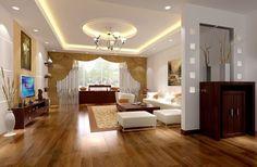 Living room house ceiling design