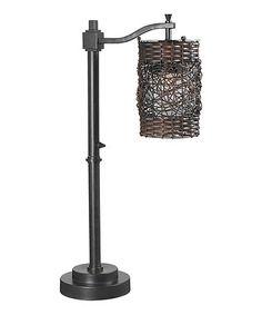 Look at this #zulilyfind! Brent Outdoor Table Lamp #zulilyfinds
