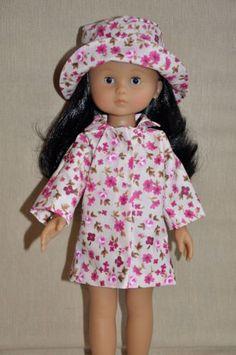 Manteau de pluie pour poupée 33 cm compatible Chéries Corolle