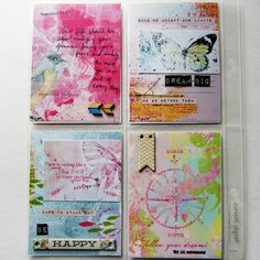 The Lilypad :: Journal Cards :: Day Dream ATC