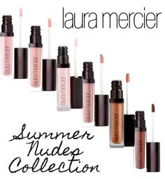 Laura Mercier Summer Nudes Lip Glacés | Beautiful Makeup Search