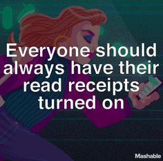 People are so afraid to turn on their read receipts, but honestly, it's really NOT that serious. Are you for or against read receipts? Click the link in our bio for why we think you should just turn them on already. Social Media Apps, Social Media Marketing, Content Marketing, Internet Marketing, Text Bubble, One Twitter, Victoria Song, About Facebook, Ways To Communicate