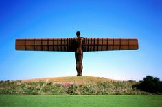 Angel of the North, England - The best public art in the world - Lonely Planet  #streetart