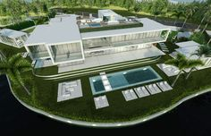 FLOATING RECTANGLES in Miami, FL by Kobi Karb Architecture