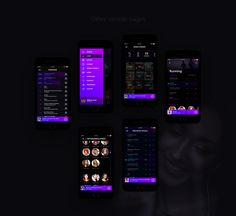 AudioVille Music Apps on Behance