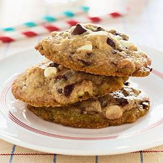 Michelle Obama's Winning Chocolate Chip Cookies @keyingredient #chocolate