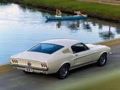 1967 Mustang GT Fastback Promotional Photo