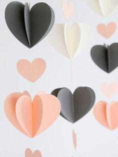 Trendy Sewing Ideas To Make Baby Shower Ideas Diy And Crafts, Crafts For Kids, Paper Crafts, Valentine Decorations, Diy Party, Diy Room Decor, Paper Flowers, Diy Gifts, Paper Art