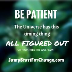 Trust in the process. Have faith that things will unfold as they should. #jumpstartforchange