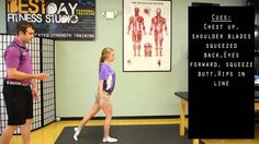 Stork Stance-low back rehab