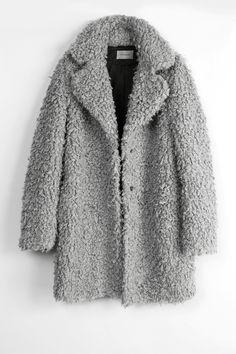 fuzzy goodness #style #fashion #coat