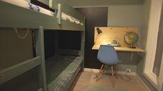 Bolig Korsvoll - Superoppusserne - TV3 - Barnerom Corner Desk, Interior, Furniture, Home Decor, Corner Table, Decoration Home, Indoor, Room Decor, Home Furnishings