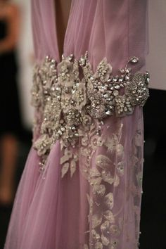 And your bird can sing: {runway} details at Badgley Mischka Spring 2014