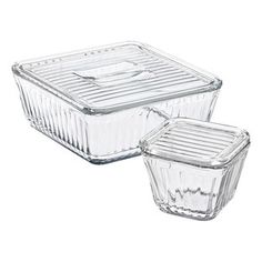 Anchor Hocking Bake and Store Dish with Glass Lid - 10 Easy Pieces: Food Storage Containers, Plastic-Free Edition – The Organized Home -