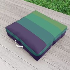 Exotic Tahiti Outdoor Floor Cushion by scardesign