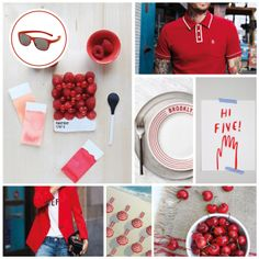 MONDAY MOODBOARD; Right Red. Start your week with color inspiration! In this weekly Monday Moodboard it's all about Red. Focus: Spicy up your spring look with  a hint of red. Ice-Watch Eyewear model: Pulse - Red