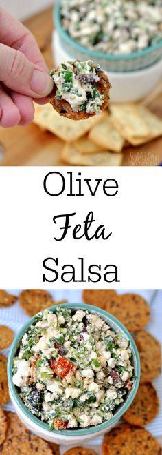Mediterranean Feta Salsa