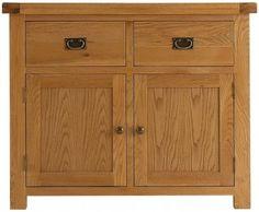 Oakwood 2 Door 2 Drawer Sideboard LI-OAK-STS £407.00