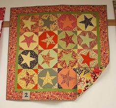 stars and circles quilt