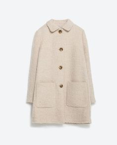 MASCULINE COAT from Zara