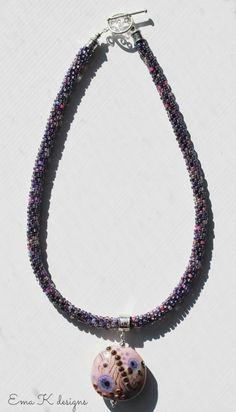 Ema Kilroy posts on Art Bead Scene Blog: Kumihimo Braiding and Art Beads Tutorial and Inspiration