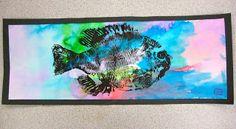 Gyotaku Fish printing