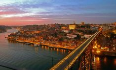 The Possibilities in Porto: Anna Selby visits the Douro Valley, Portugal - via The Arbuturian  Chuah Arbuturian Photo: Porto Sunset Portugal Tourism, Hotels Portugal, Porto Portugal, Best Romantic Getaways, Romantic Destinations, Amazing Destinations, The Beautiful Country, Beautiful Places, Douro Valley