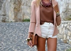 Neutral blazers.