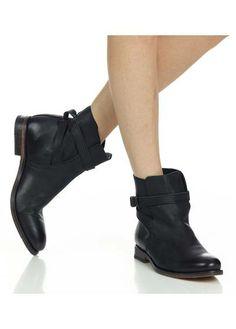 Boots cuir   Noir by ATELIER VOISIN