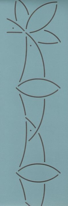 "Susan B. Anthony Border 2.5"" - The Stencil Company"