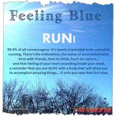 Inspiration - Motivation - Just run! Fitness Motivation, Running Motivation, Fitness Quotes, Motivation Quotes, Keep Running, How To Start Running, Running Tips, Trail Running, Running Track