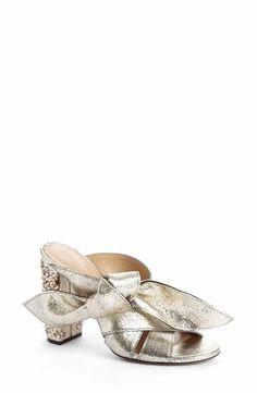 Chloé Nellie Embellished Topknot Sandal