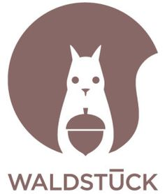 the wonderful logo for the tiny waldstueck shop in hamburg by jessica broscheit.