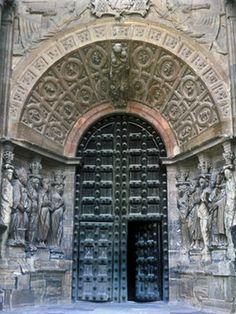 Pórtico Catedral de Nuestra Señora de la Huerta