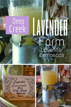 Events by Farmhouse Fête  Lavender Lemonade by Deep Creek Lavender Farm Weddings and Events in Deep Creek Lake- Garrett County, Maryland