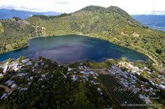 Laguna Calderas en Volcan de Pacaya, Guatemala.