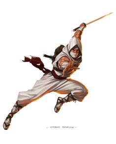 Storm Shadow by Jarreau Wimberly Arte Ninja, Ninja Art, Game Character Design, Character Art, Guerrero Ninja, Snake Eyes Gi Joe, Japanese Warrior, Storm Shadow, Shadow Warrior