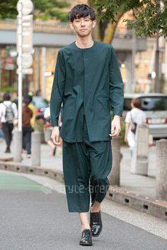Taiga | ETHOSENS  GUCCI ISSEY MIYAKE REGAL | 4th week  Jun. 2016 | Omotesando | Tokyo Street Style | TOKYO STREET FASHION NEWS | style-arena.jp
