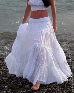 Boho Outfits, Skirt Outfits, Dress Skirt, Fashion Outfits, Indian Fashion Dresses, Boho Fashion, Long Skirt Fashion, Stitching Dresses, Designer Dresses
