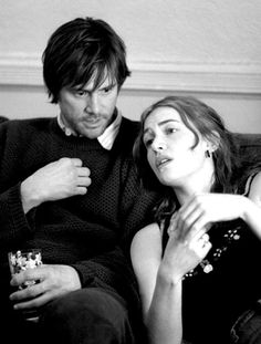 Eternal Sunshine of the Spotless Mind (2004) Michel Gondry - Jim Carrey and Kate Winslet. - Probably one of my all time favourite films.