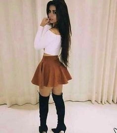 Shared by 𝒜𝓇𝒾𝒶𝓃𝒶. Find images and videos about fashion, style and outfit on We Heart It - the app to get lost in what you love. Girly Outfits, Mode Outfits, Skirt Outfits, Sexy Outfits, Trendy Outfits, Fall Outfits, Summer Outfits, Fashion Outfits, Womens Fashion