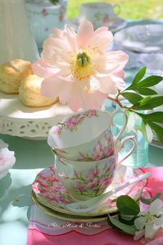 Aiken House & Gardens: Apple Blossom Tea